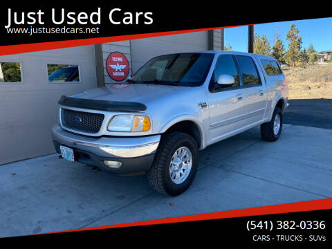 2001 Ford F-150 for sale at Just Used Cars in Bend OR