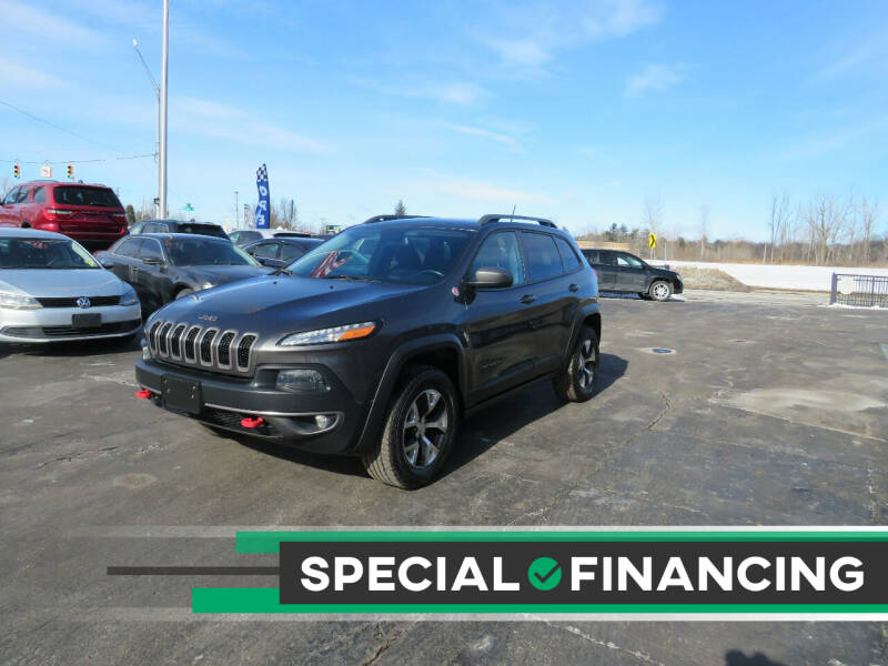 2014 Jeep Cherokee for sale at A to Z Auto Financing in Waterford MI