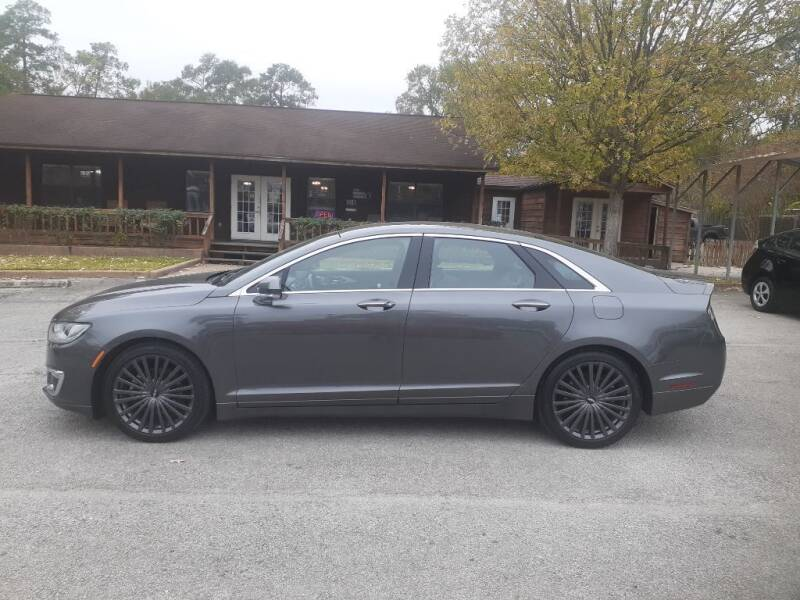 2018 Lincoln MKZ for sale at Victory Motor Company in Conroe TX
