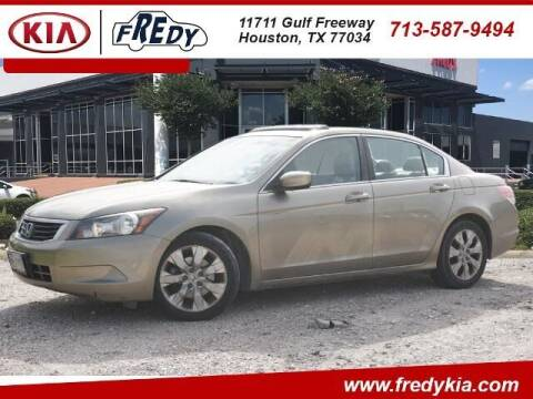 2010 Honda Accord for sale at FREDY KIA USED CARS in Houston TX
