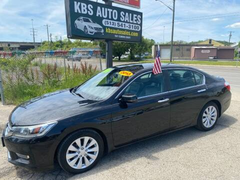 2013 Honda Accord for sale at KBS Auto Sales in Cincinnati OH
