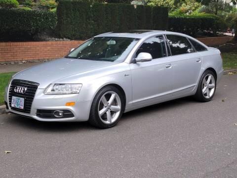 2011 Audi A6 for sale at JB Motorsports LLC in Portland OR