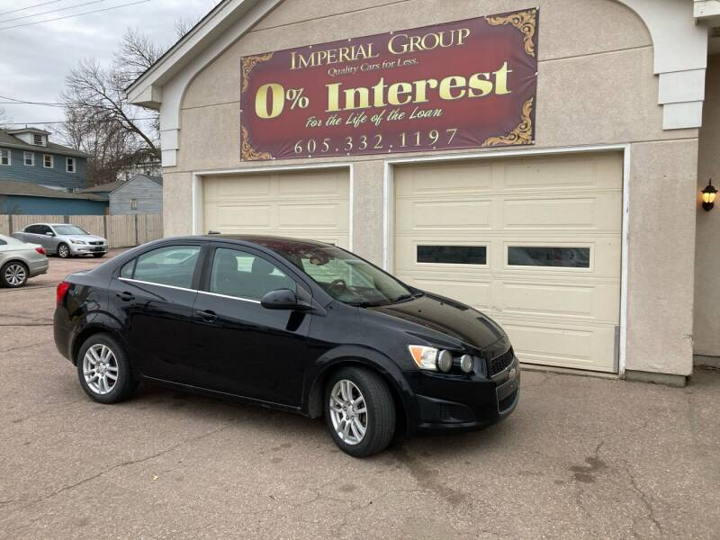 2012 Chevrolet Sonic for sale at Imperial Group in Sioux Falls SD