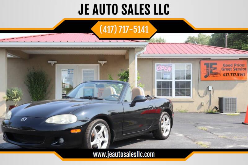 2001 Mazda MX-5 Miata for sale at JE AUTO SALES LLC in Webb City MO