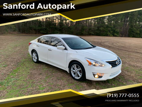2015 Nissan Altima for sale at Sanford Autopark in Sanford NC