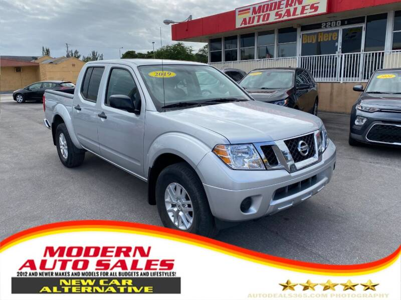 2019 Nissan Frontier for sale at Modern Auto Sales in Hollywood FL