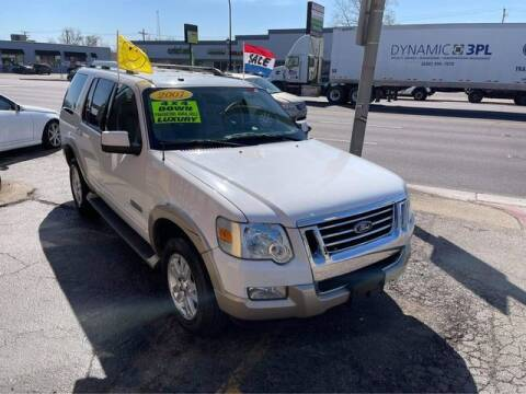 2007 Ford Explorer for sale at JBA Auto Sales Inc in Stone Park IL