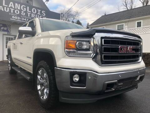 2014 GMC Sierra 1500 for sale at Langlois Auto and Truck LLC in Kingston NH