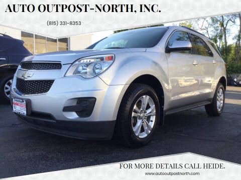 2012 Chevrolet Equinox for sale at Auto Outpost-North, Inc. in McHenry IL