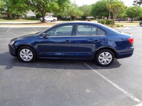 2013 Volkswagen Jetta for sale at BALKCUM AUTO INC in Wilmington NC