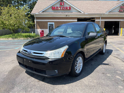 2010 Ford Focus for sale at A 1 Motors in Monroe MI