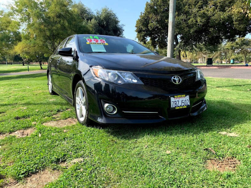 2014 Toyota Camry for sale at D & I Auto Sales in Modesto CA