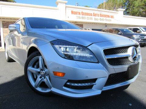 2012 Mercedes-Benz CLS for sale at North Georgia Auto Brokers in Snellville GA