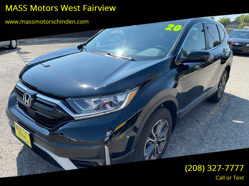 2020 Honda CR-V for sale at MASS Motors West Fairview in Boise ID