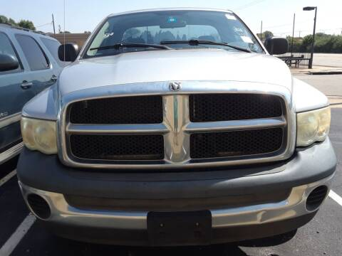 2004 Dodge Ram Pickup 1500 for sale at Auto Haus Imports in Grand Prairie TX