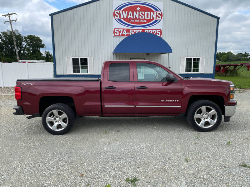 2014 Chevrolet Silverado 1500 for sale at Swanson's Cars and Trucks in Warsaw IN
