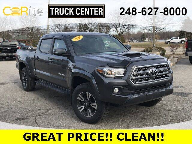 2016 Toyota Tacoma for sale at Carite Truck Center in Ortonville MI
