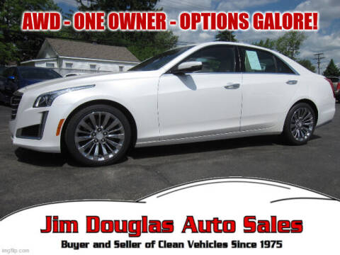 2017 Cadillac CTS for sale at Jim Douglas Auto Sales in Pontiac MI