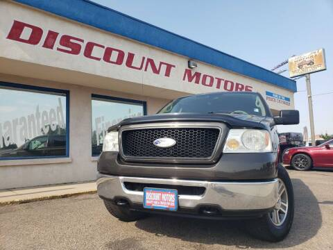 2006 Ford F-150 for sale at Discount Motors in Pueblo CO