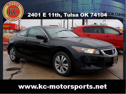 2009 Honda Accord for sale at KC MOTORSPORTS in Tulsa OK