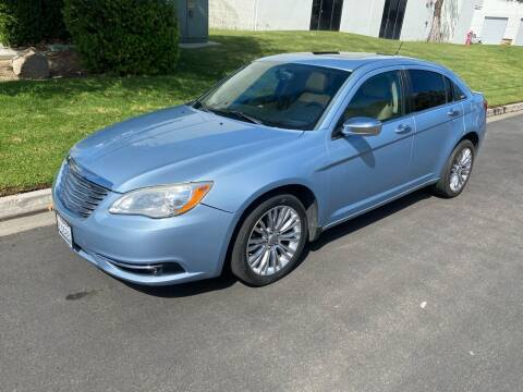 2012 Chrysler 200 for sale at California Auto Sales in Temecula CA