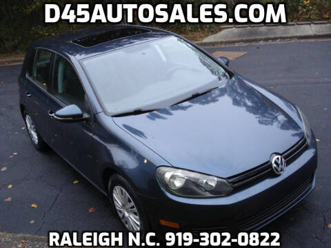 2010 Volkswagen Golf for sale at D45 Auto Brokers in Raleigh NC