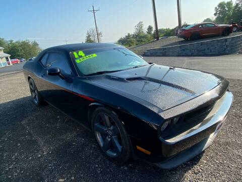 2014 Dodge Challenger for sale at ALL WHEELS DRIVEN in Wellsboro PA