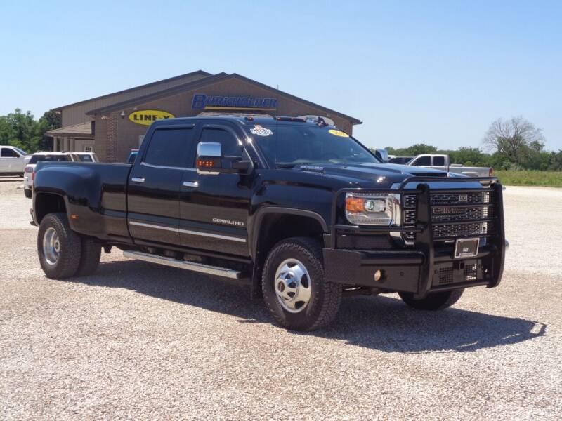 2018 GMC Sierra 3500HD for sale at Burkholder Truck Sales LLC (Edina) in Edina MO
