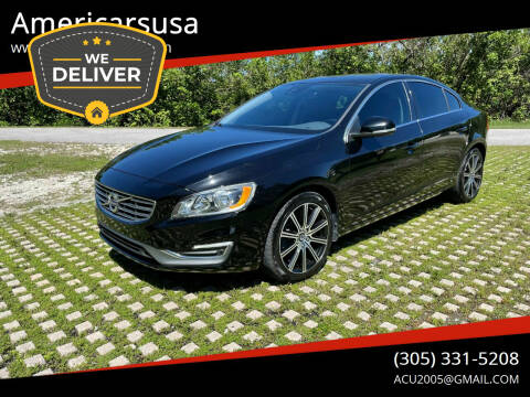 2017 Volvo S60 for sale at Americarsusa in Hollywood FL