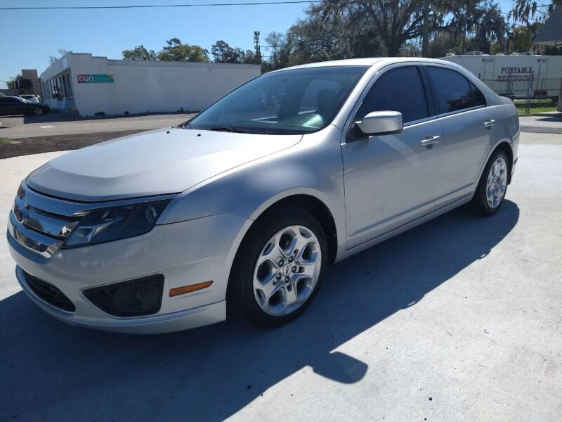 2010 Ford Fusion for sale at NINO AUTO SALES INC in Jacksonville FL
