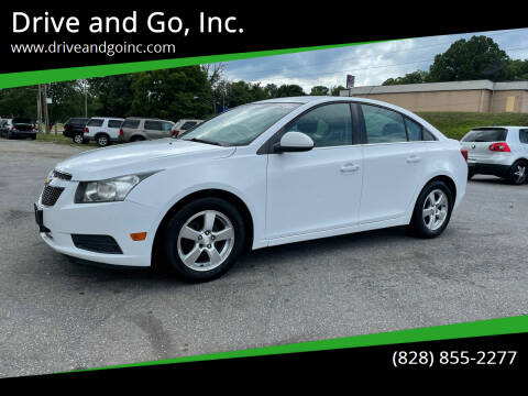 2012 Chevrolet Cruze for sale at Drive and Go, Inc. in Hickory NC