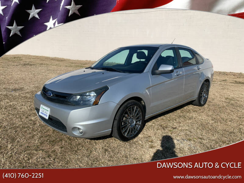 2011 Ford Focus for sale at Dawsons Auto & Cycle in Glen Burnie MD