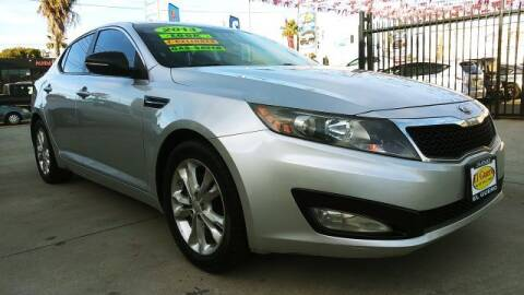 2013 Kia Optima for sale at El Guero Auto Sale in Hawthorne CA