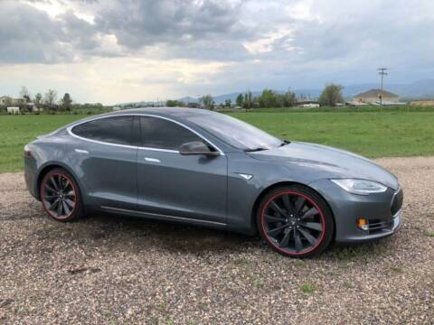 2013 Tesla Model S for sale at T.K. AUTO SALES LLC in Salisbury NC
