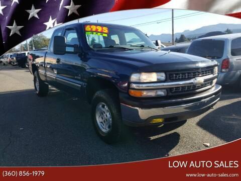 2000 Chevrolet Silverado 1500 for sale at Low Auto Sales in Sedro Woolley WA
