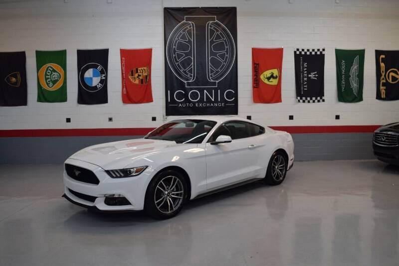 2017 Ford Mustang for sale at Iconic Auto Exchange in Concord NC