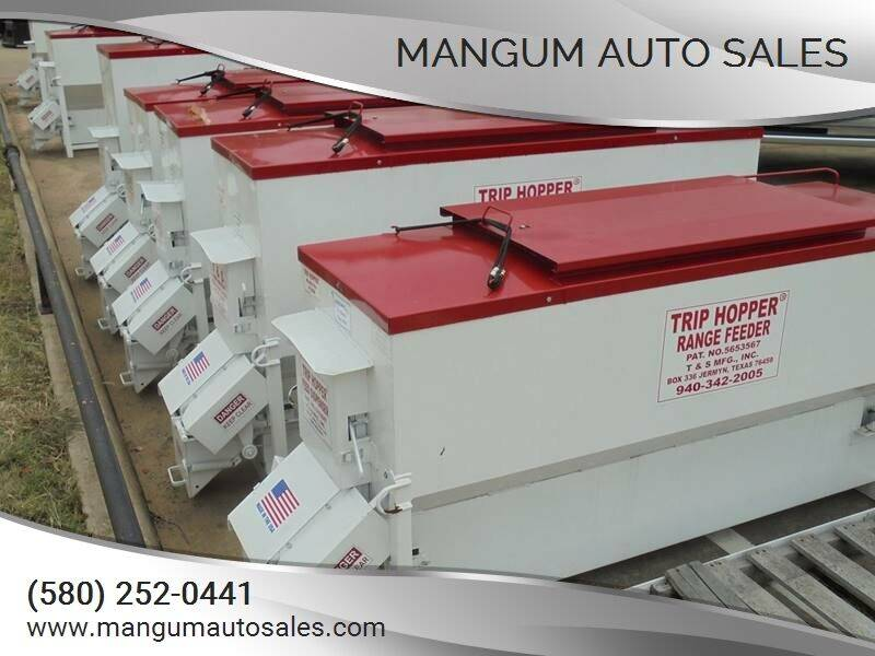 2021 T&S Mfg. Trip Hopper Cattle Feeders for sale at MANGUM AUTO SALES in Duncan OK