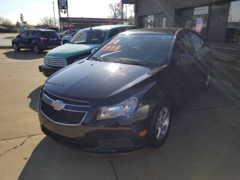2014 Chevrolet Cruze for sale at Madison Motor Sales in Madison Heights MI