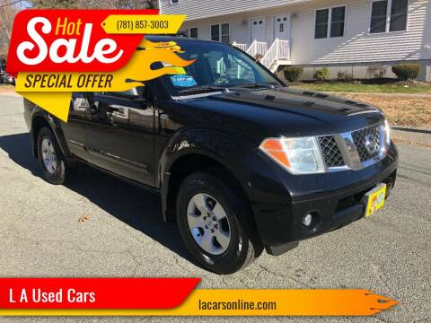 2007 Nissan Pathfinder for sale at L A Used Cars in Abington MA