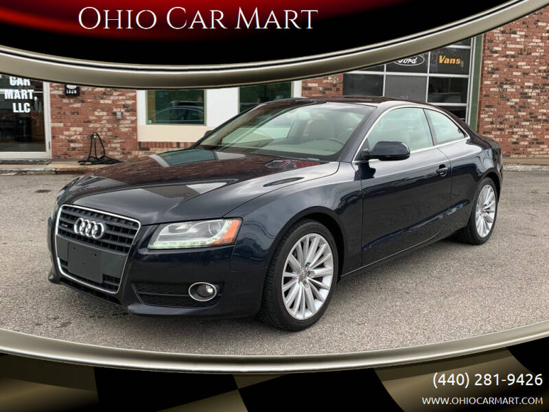 2012 Audi A5 for sale at Ohio Car Mart in Elyria OH