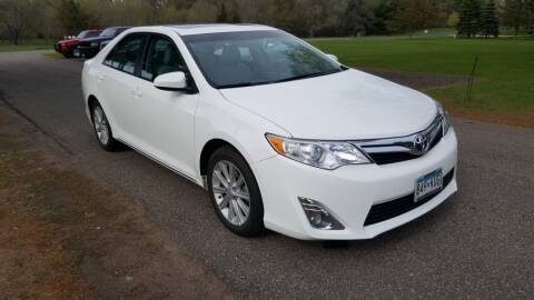 2012 Toyota Camry for sale at Shores Auto in Lakeland Shores MN
