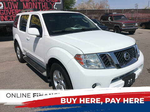 2011 Nissan Pathfinder for sale at Rock Star Auto Sales in Las Vegas NV