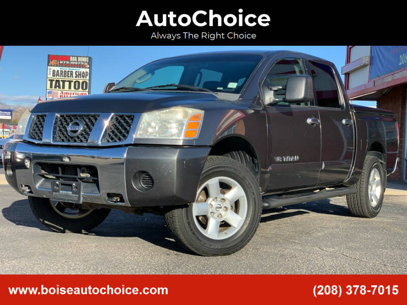 2006 Nissan Titan for sale at AutoChoice in Boise ID