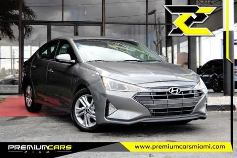 2020 Hyundai Elantra for sale at Premium Cars of Miami in Miami FL