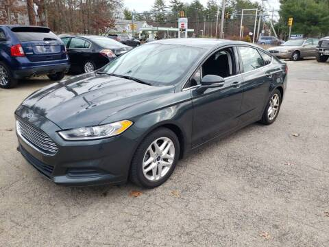 2015 Ford Fusion for sale at Topham Automotive Inc. in Middleboro MA