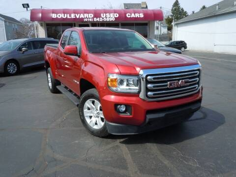 2016 GMC Canyon for sale at Boulevard Used Cars in Grand Haven MI