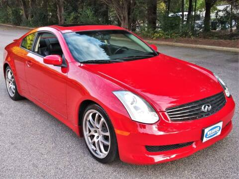 2007 Infiniti G35 for sale at Weaver Motorsports Inc in Cary NC