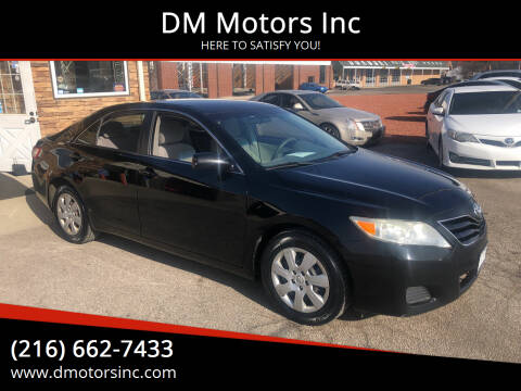 2011 Toyota Camry for sale at DM Motors Inc in Maple Heights OH