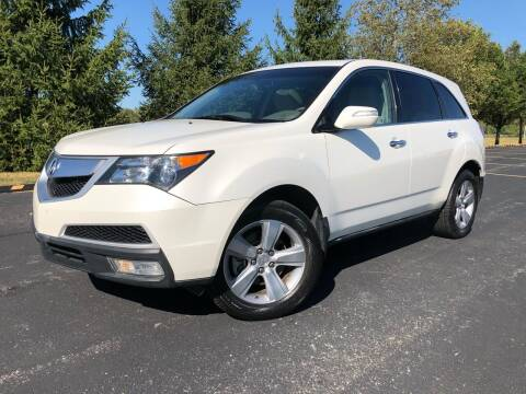 2011 Acura MDX for sale at Car Stars in Elmhurst IL
