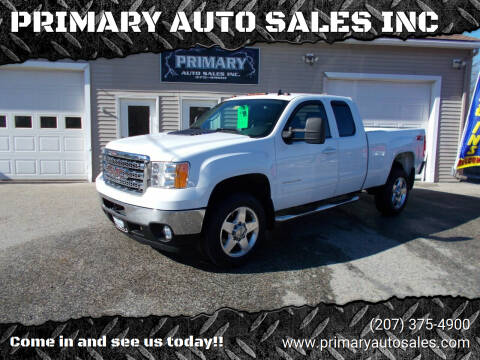 2013 GMC Sierra 2500HD for sale at PRIMARY AUTO SALES INC in Sabattus ME